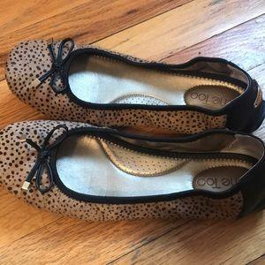 Leopard pattern flats